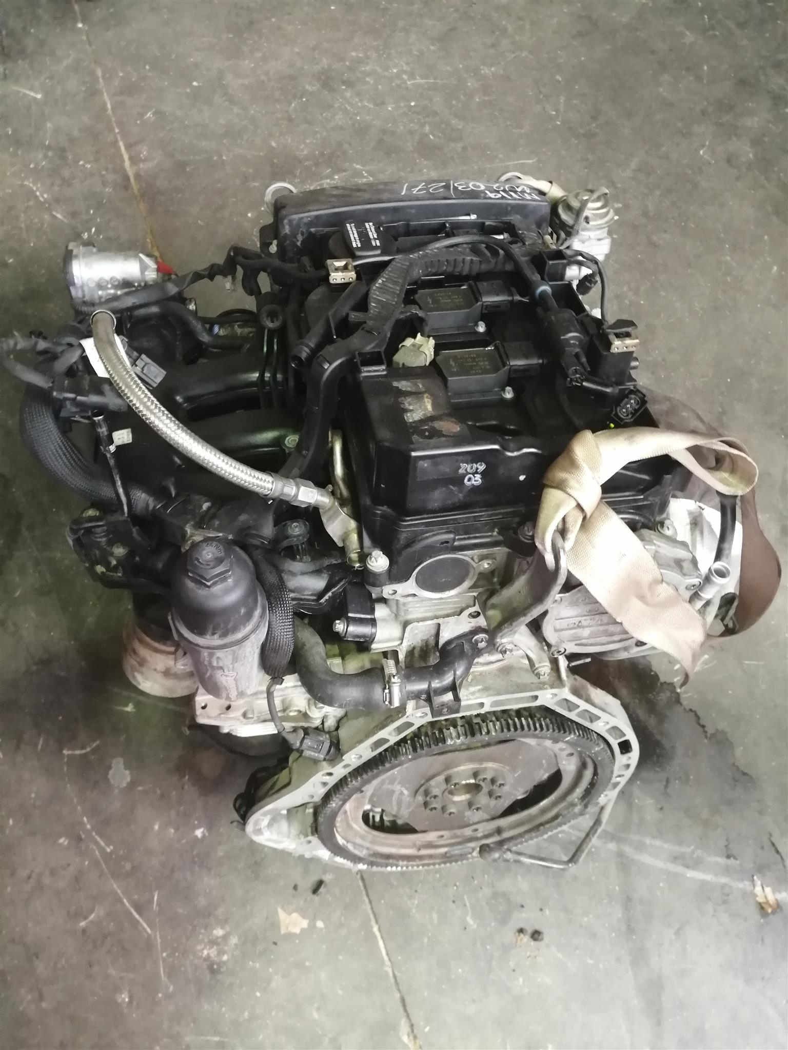 271 MERCEDES-BENZ ENGINE W203