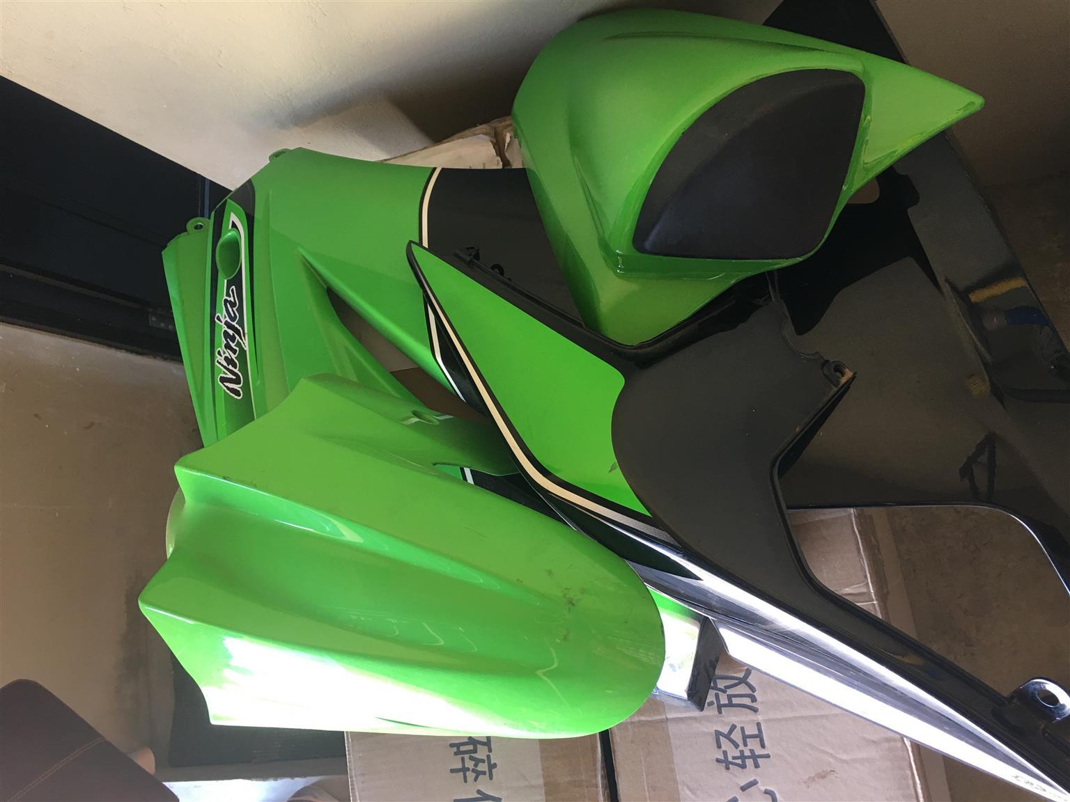 Kawasaki Ninja body covers.