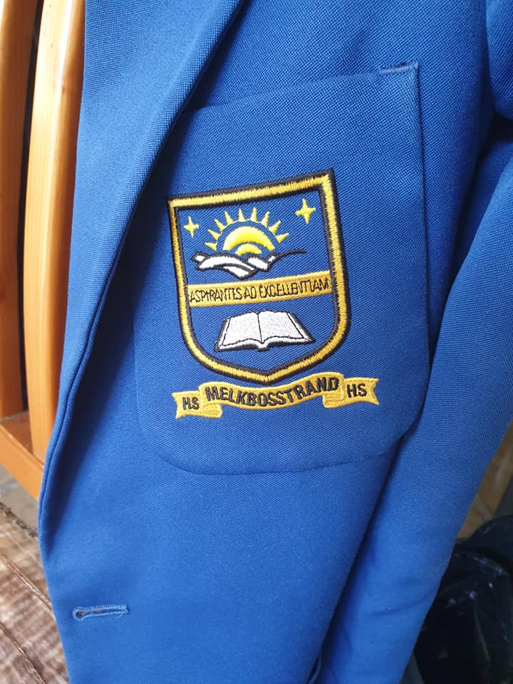 Melkbos high girls' full uniform for sale - size S