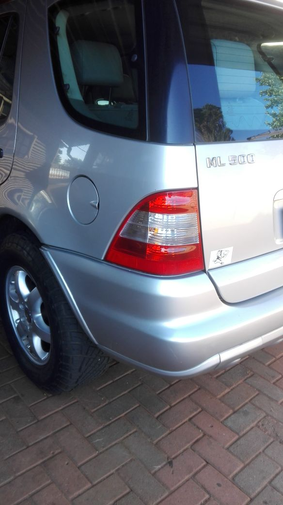 2002 Mercedes Benz ML 500