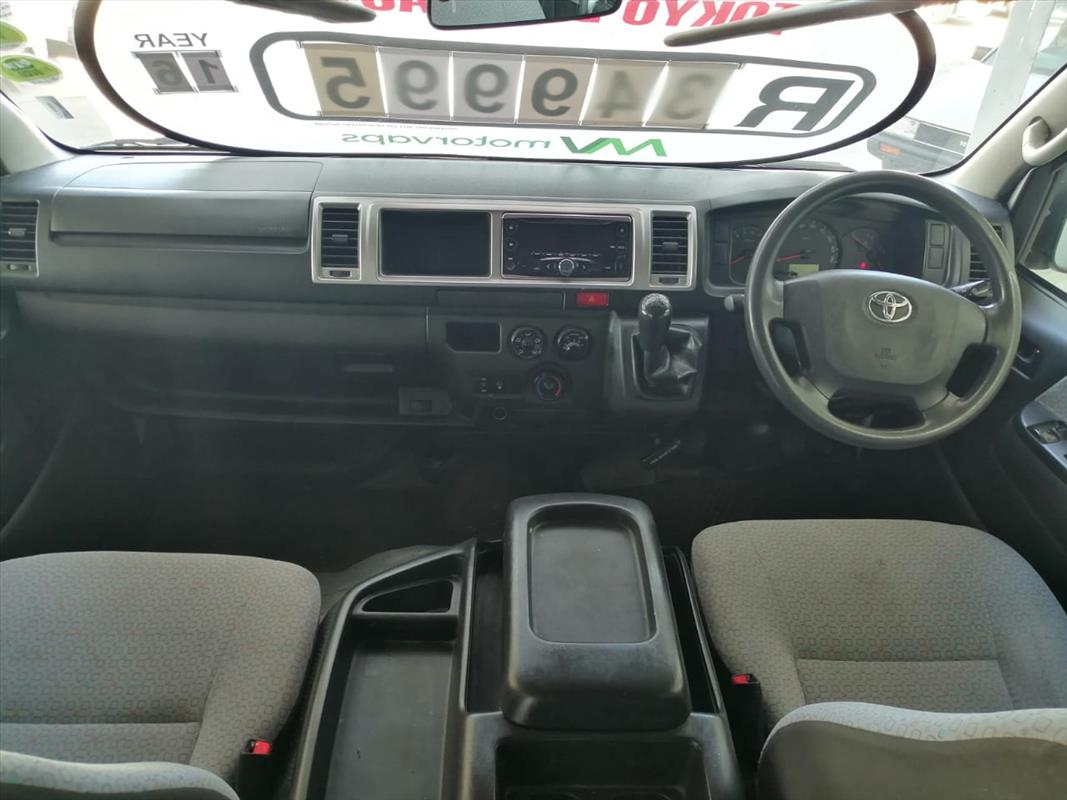 2016 Toyota Quantum 2.7 GL 14 seater bus