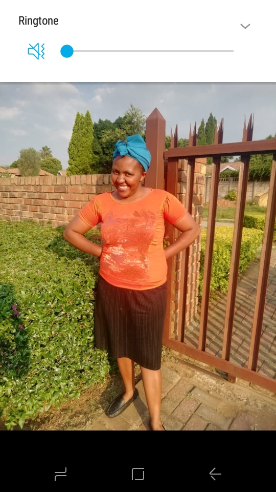 Lesotho maid/nanny/cleaner/cook with refs needs sleep in work.