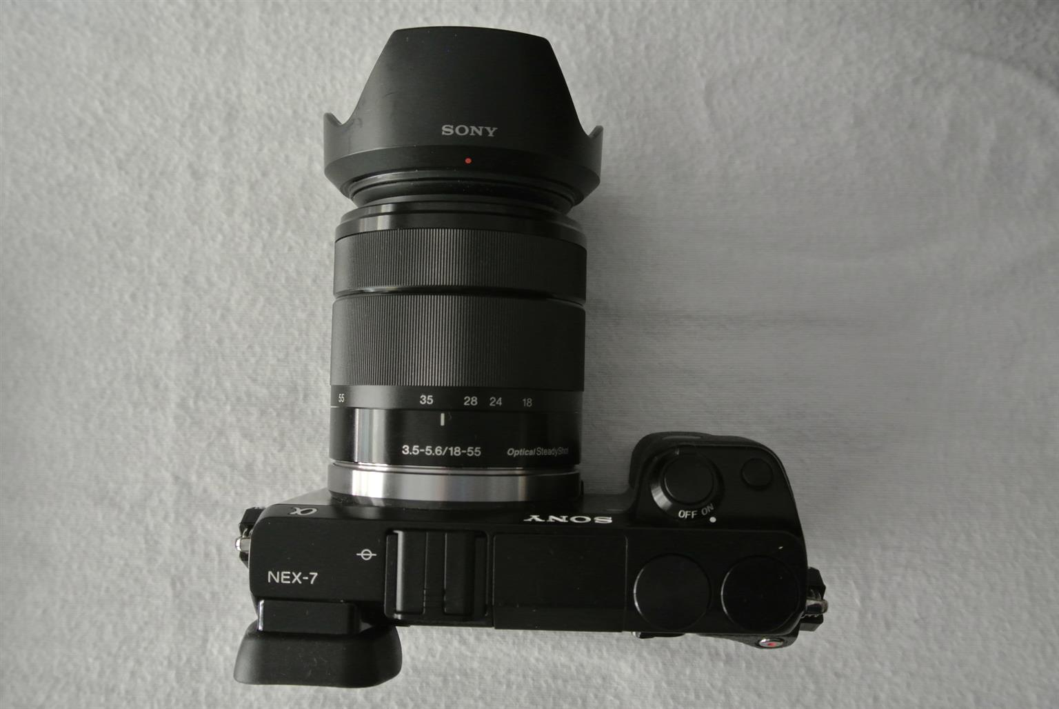 Sony NEX-7 24.3 MP Mirrorless Digital Camera with 18-55mm Lens