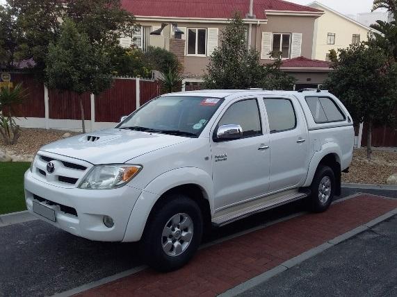 2007 Toyota Hilux 2.5D 4D double cab Raider