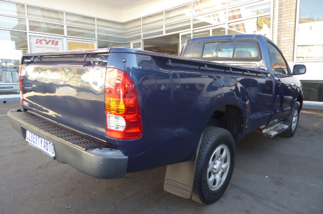 2007 Toyota Hilux 2.5D 4D raised body SRX