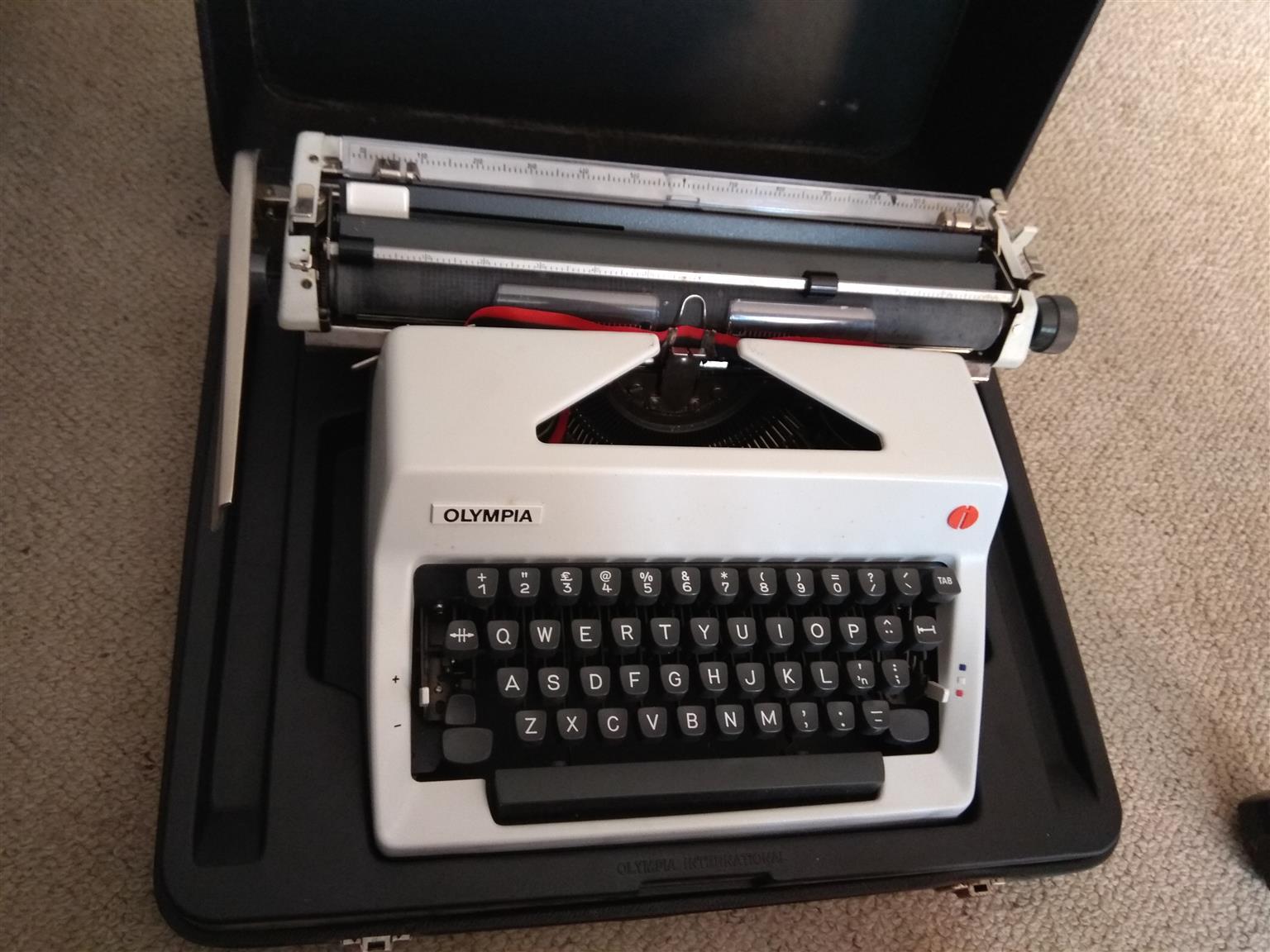 Portable Olympia Type Writer