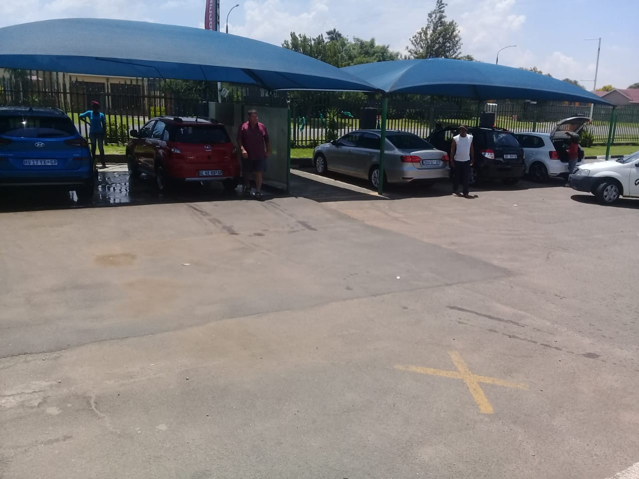 fully equiped car wash for sale