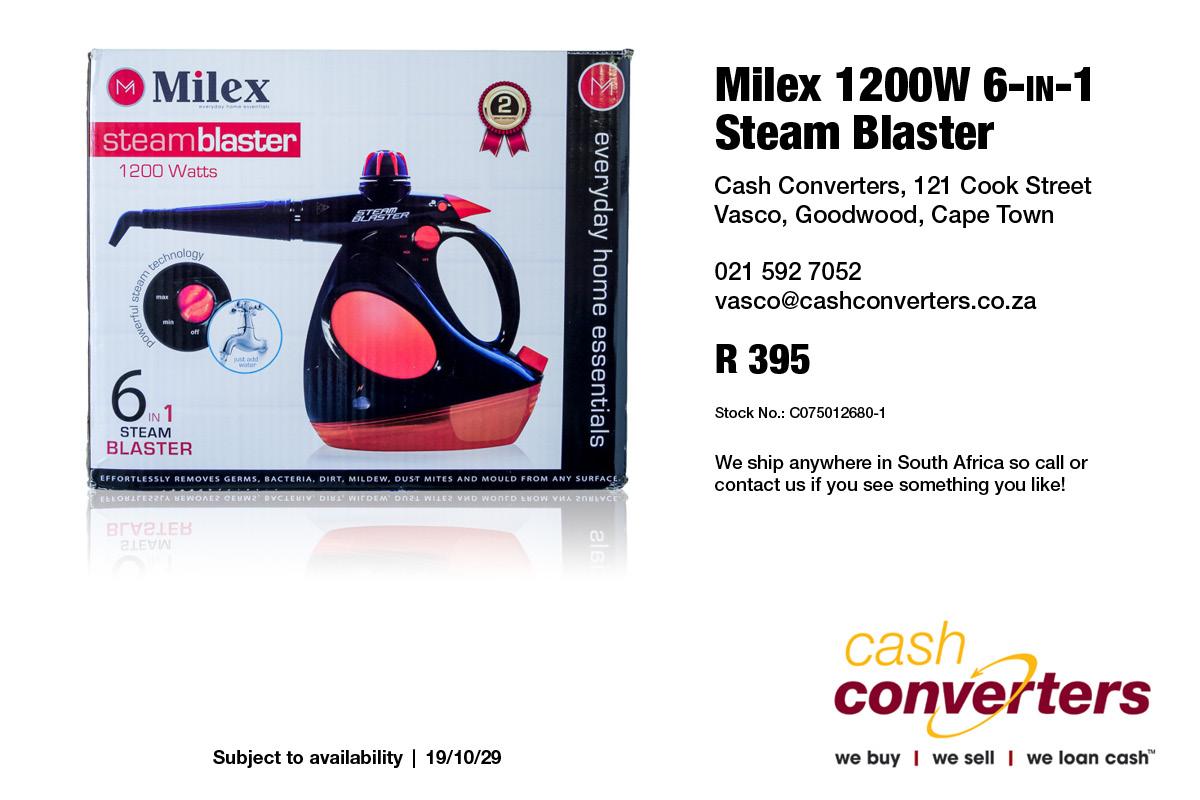 Milex 1200W 6-in-1 Steam Blaster