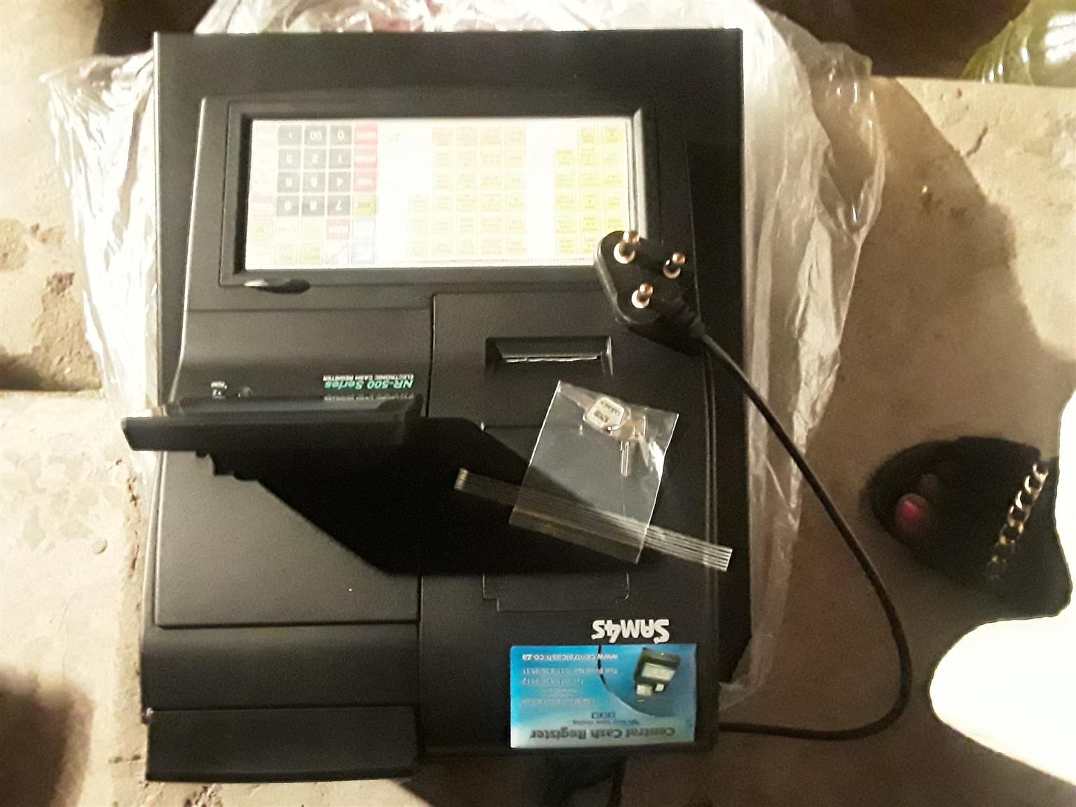 SAM4S ELECTRONIC CASH REGISTER, NR-510B, BRAND NEW NEVER BEEN USED X2D.
