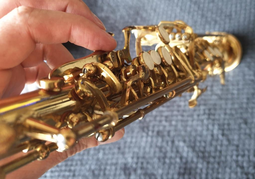 Century Soprano Saxophone - Brass - French - with Case and Yamaha 4c Mouthpiece