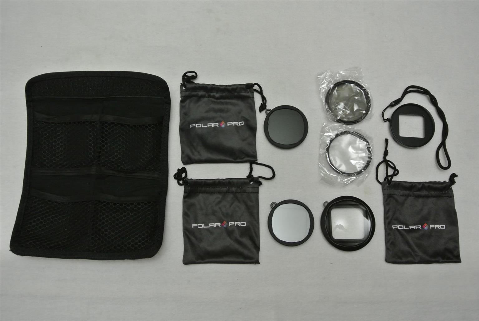 PolarPro Lens and Filter Kit Fits Hero4 / Hero3