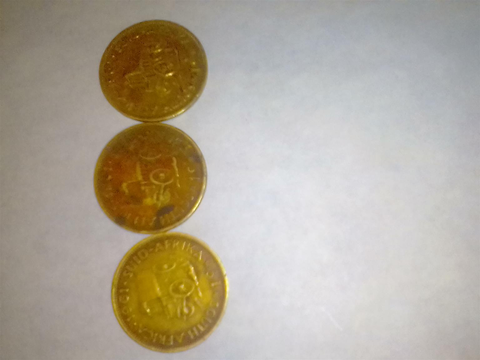 1961-1965 old South African coins