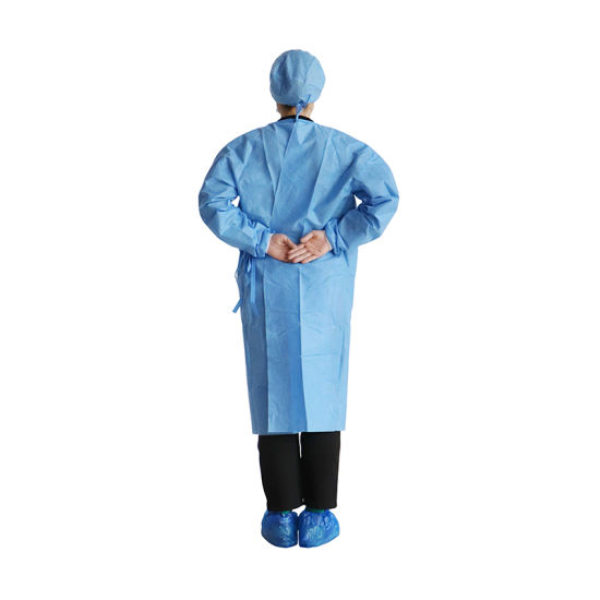 SF-3 LAYER PE DISPOSABLE ISOLATION GOWN