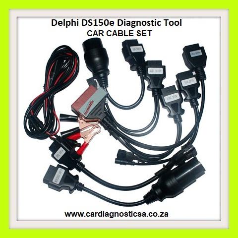 Car diagnostic Tool: Delphi DS150E bluetooth + 8 car adaptors  NOW IN STOCK!!