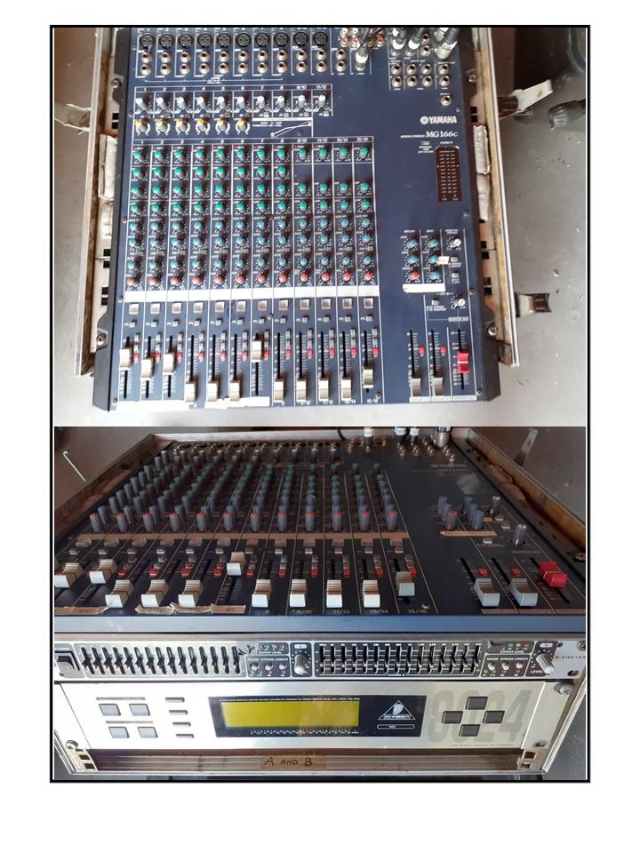 Yamaha Sound Desk
