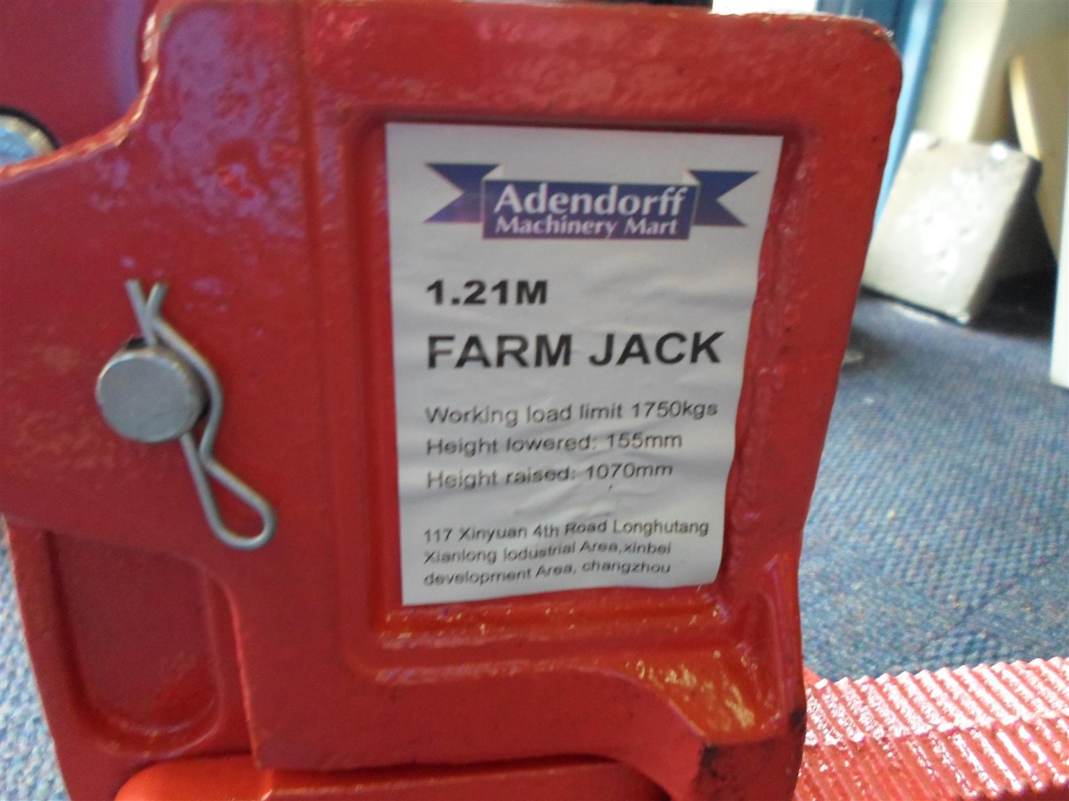 Adendorff 1.21m Farm Jack