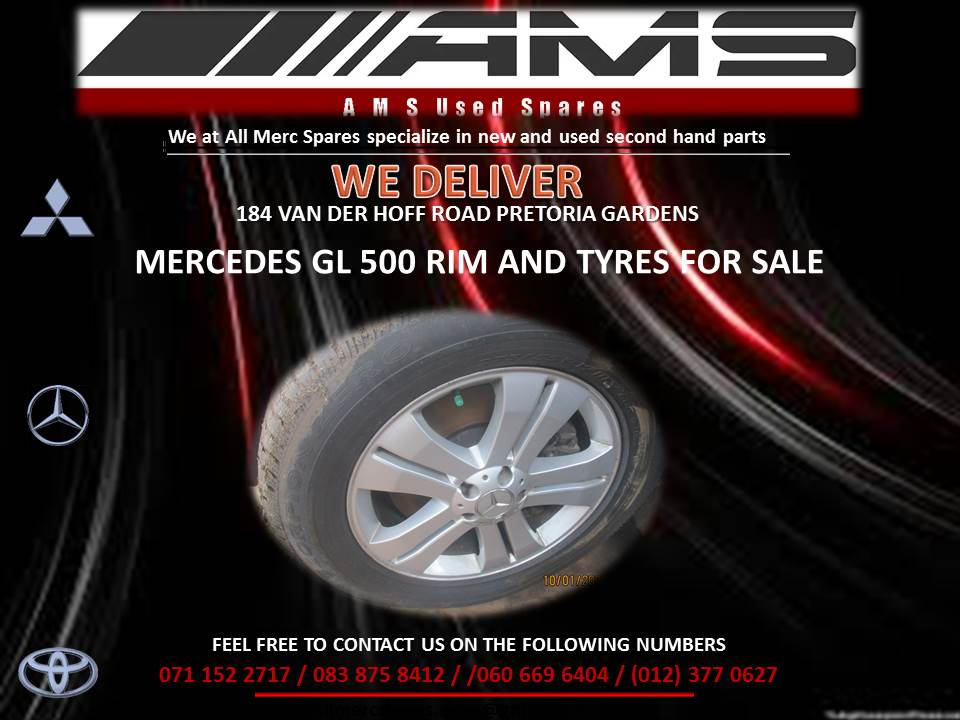 MERCEDES GL500 RIM AND TYRES