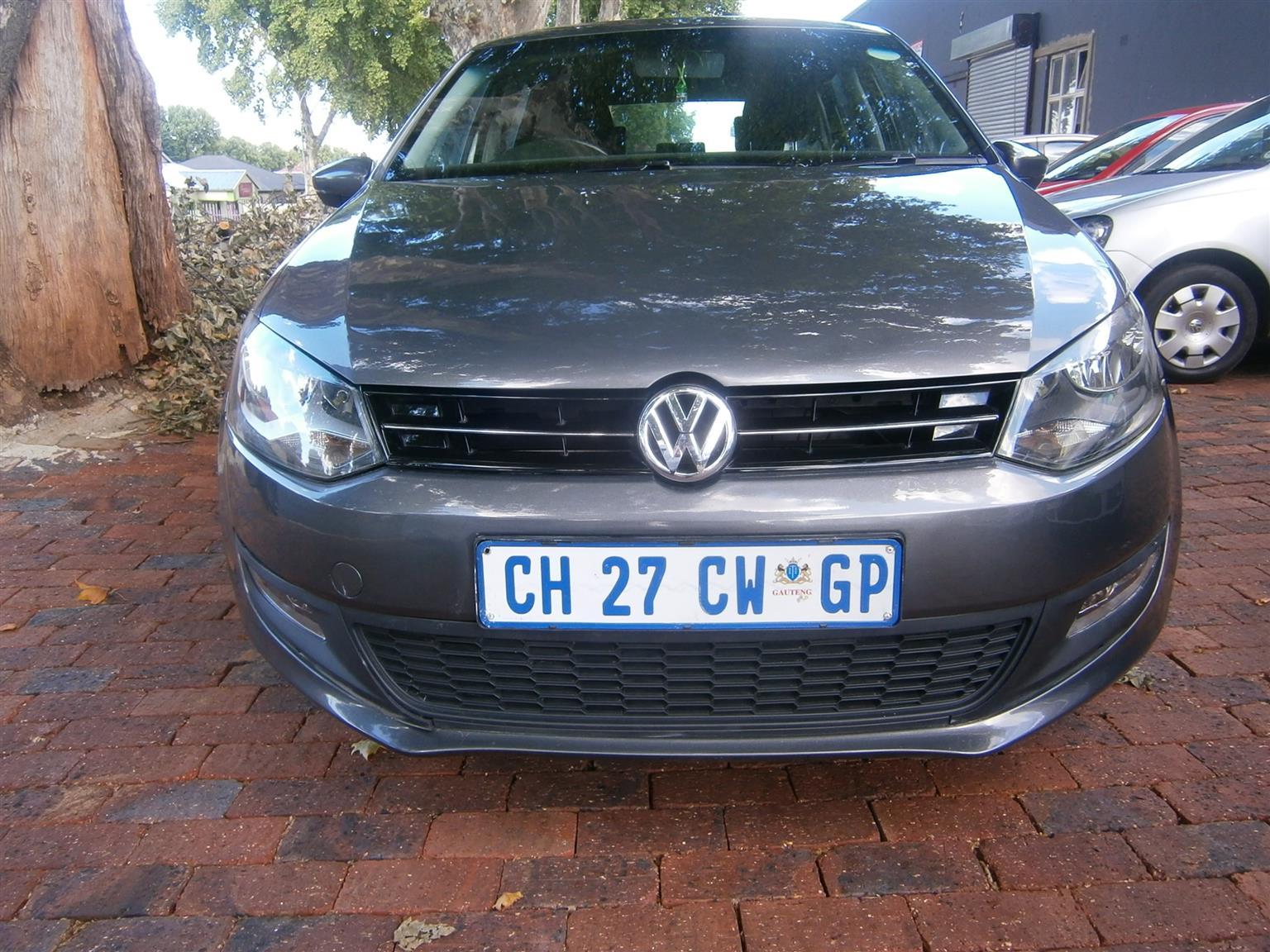 2013 VW Polo 1.6 Comfortline