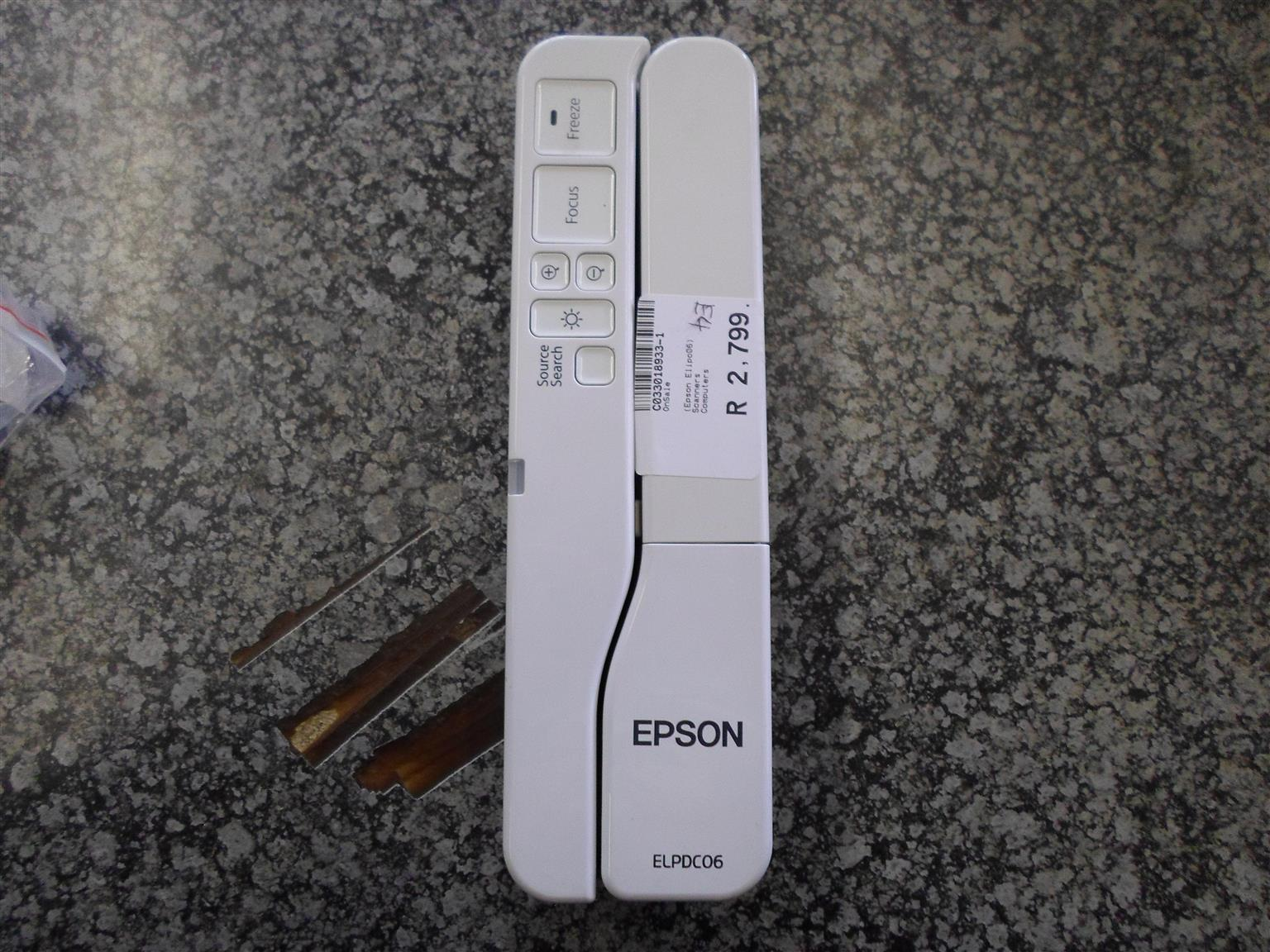 Epson ELPDC06 Document Camera / Scanner