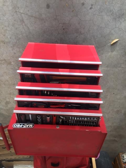 NEW TOOL BOX WITH TOOLA