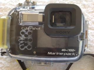 SONY CYBER-SHOT DSC-HX5V 10.2MP CAMERA + WATERPROOF CASE