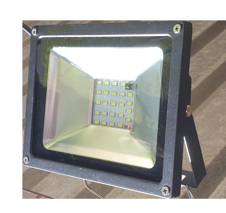 Solar flood light 16 hours design operation