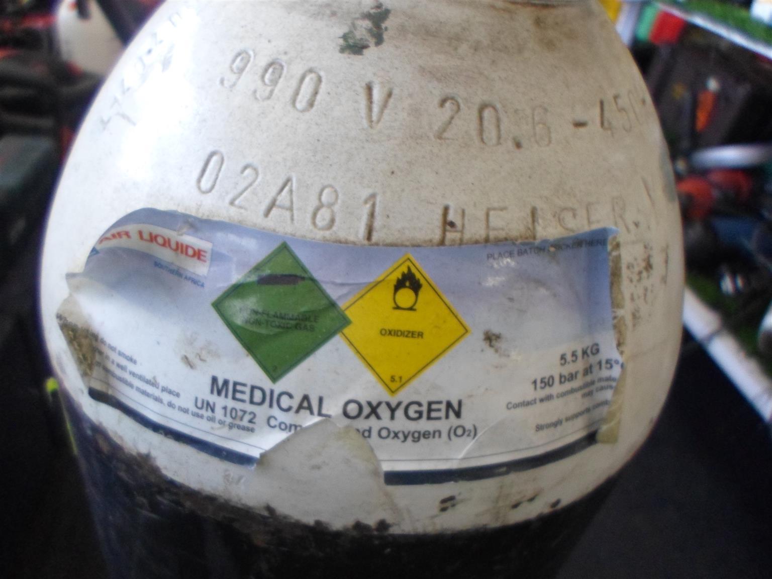 5kg Oxygen Bottle - B033052434-2
