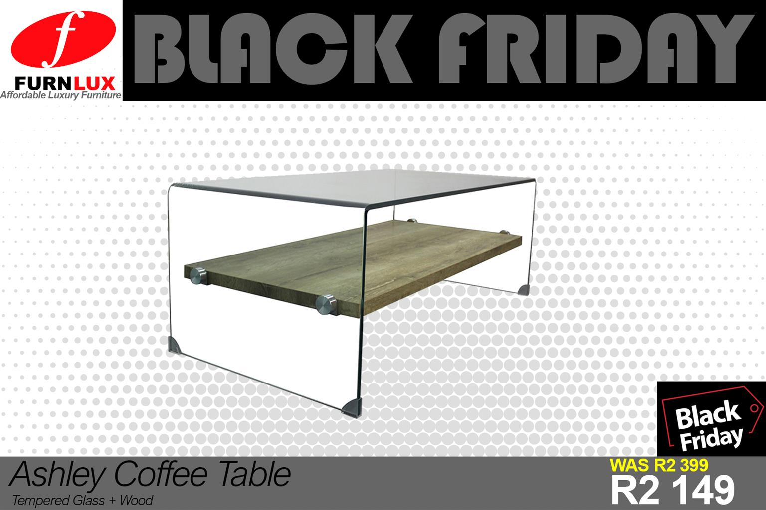 BLACK FRIDAY BRAND NEW ASHLEY COFFEE TABLE