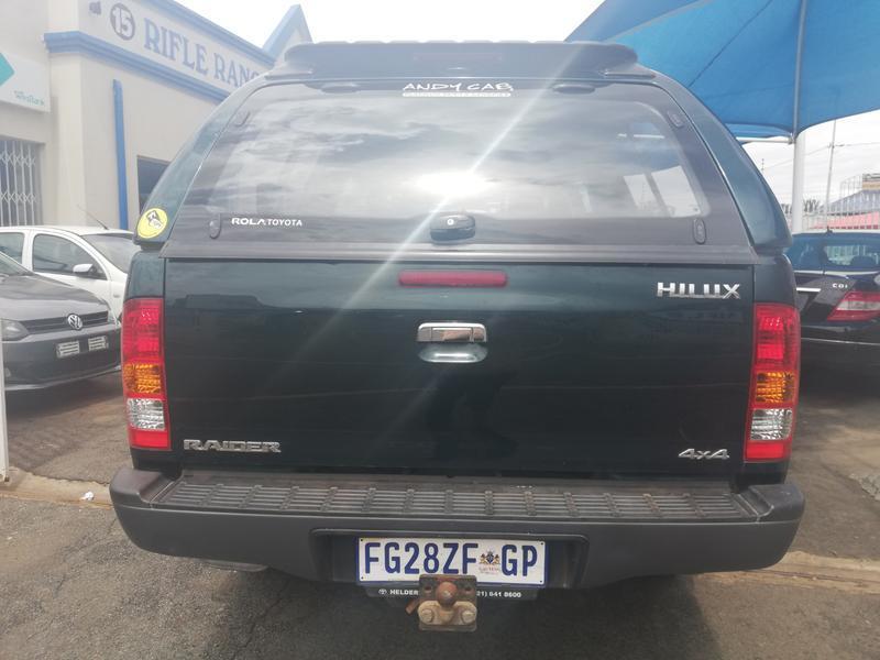 2006 Toyota Hilux double cab HILUX 4.0 V6 RAIDER 4X4 A/T P/U D/C