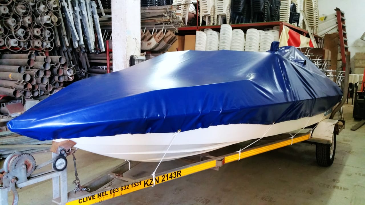 MANUFACTURE OF BOAT COVERS