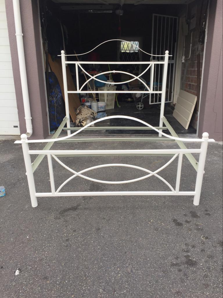 Wrought Iron Queen Size Bed Junk Mail