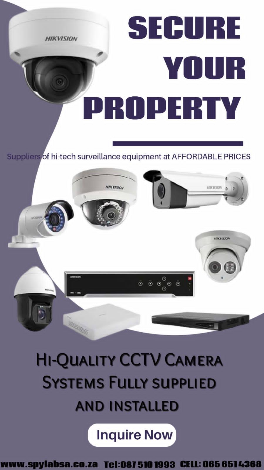CCTV Cameras full installed