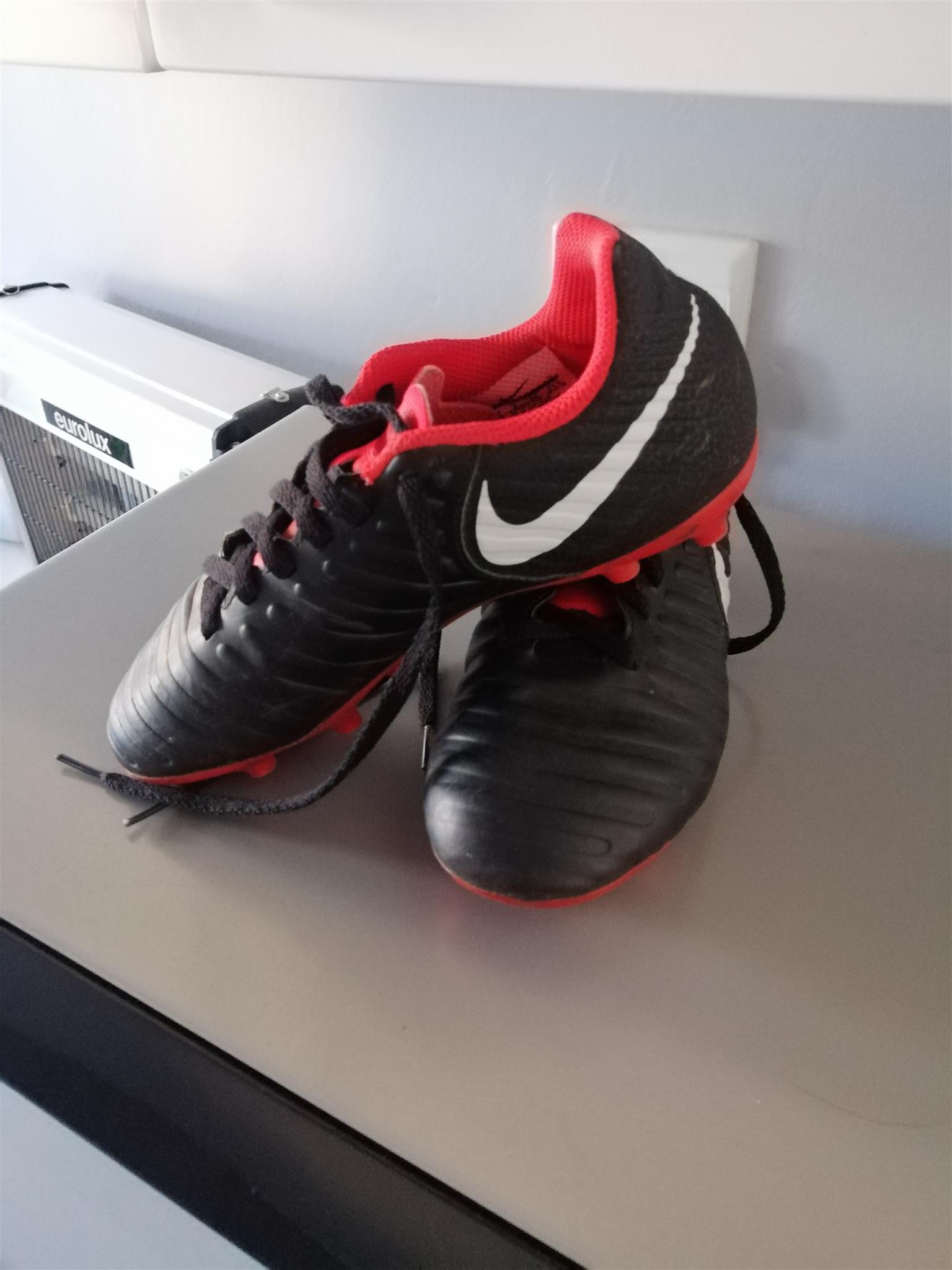 Nike Tempo soccer boots for boy