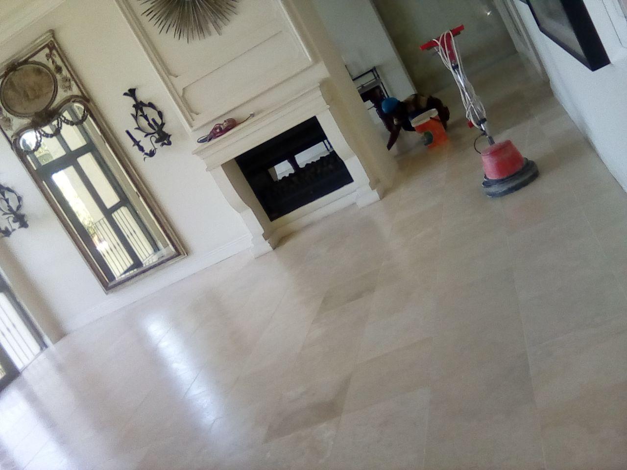 POLISH and sealing of marble, travertine, terrazzo, sandstone Etc