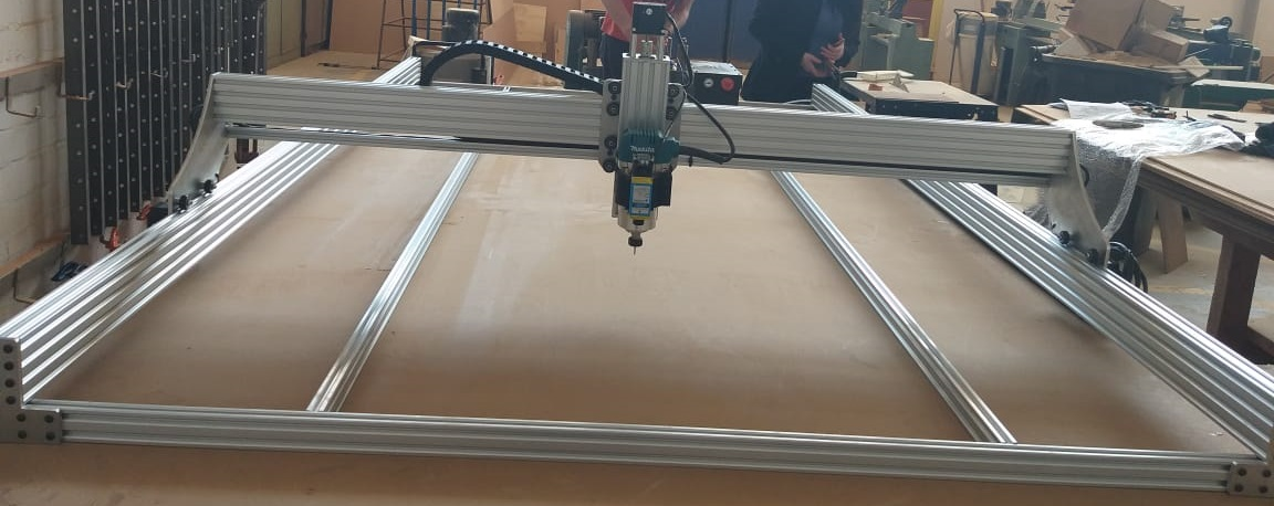 Space Build X CNC Machine