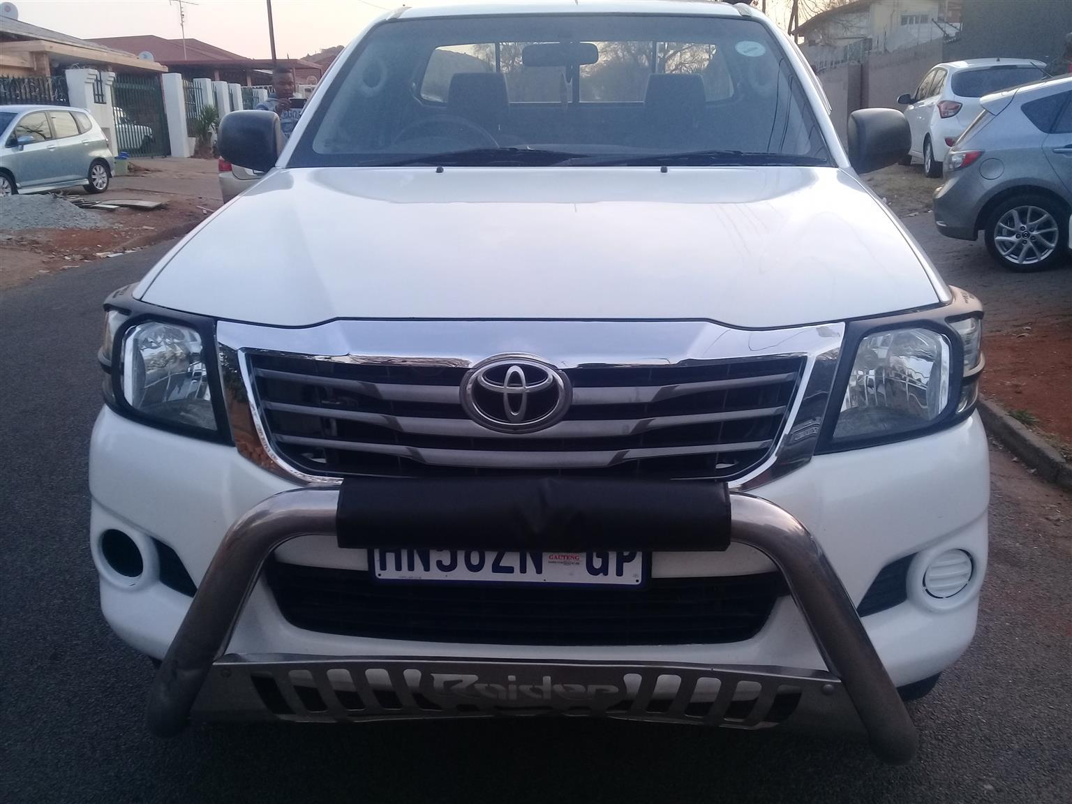2012 Toyota Hilux 2.5D 4D 4x4 SRX