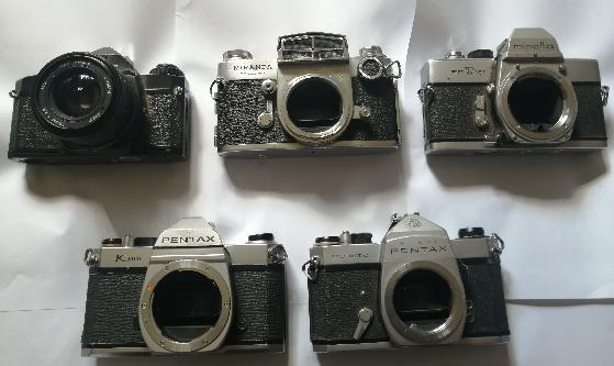 Vintage Camera and lenses for sale