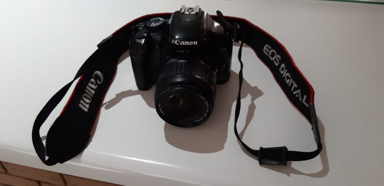 Canon 450D Camera + bag for sale with 18-55mm lens