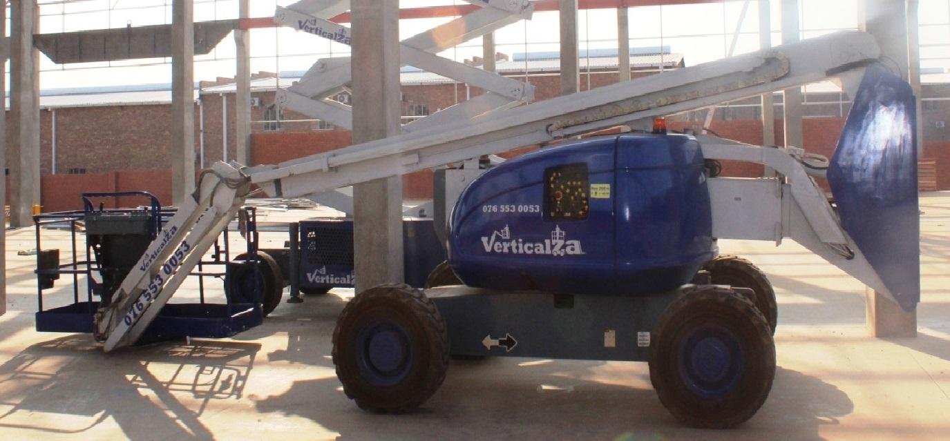 VerticalZA Cherry Picker JLG600AJ - 20m Boom Lift, TELESCOPIC Manlift
