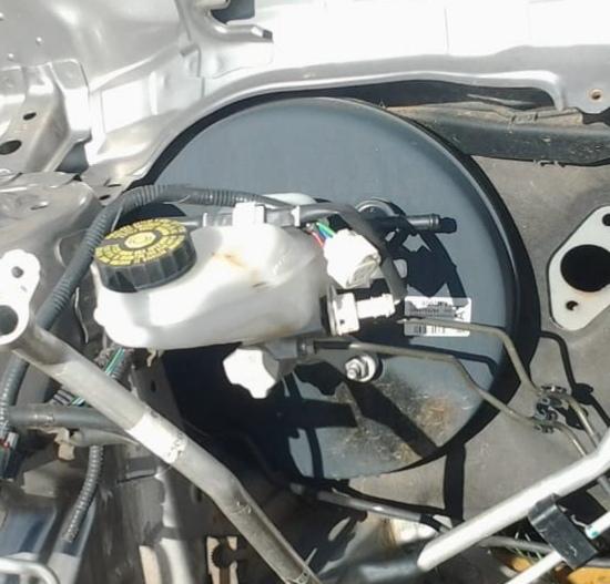 Toyota Corolla Quest E140-E150 Wide 2006- Mk10 Brake Booster,Brakr Fluid  Bottle & Brake Master Cylinder