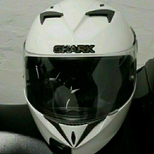 Shark S700 Motorcycle Helmet Prime White