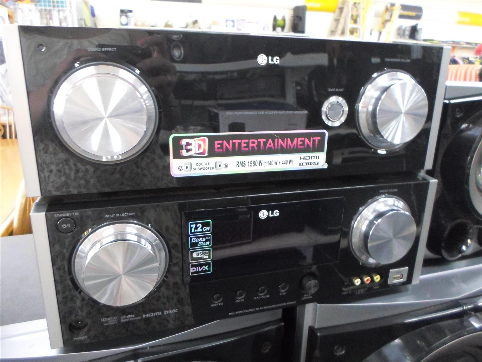 Home Theater LG 7 RMS 1580W 7Channel