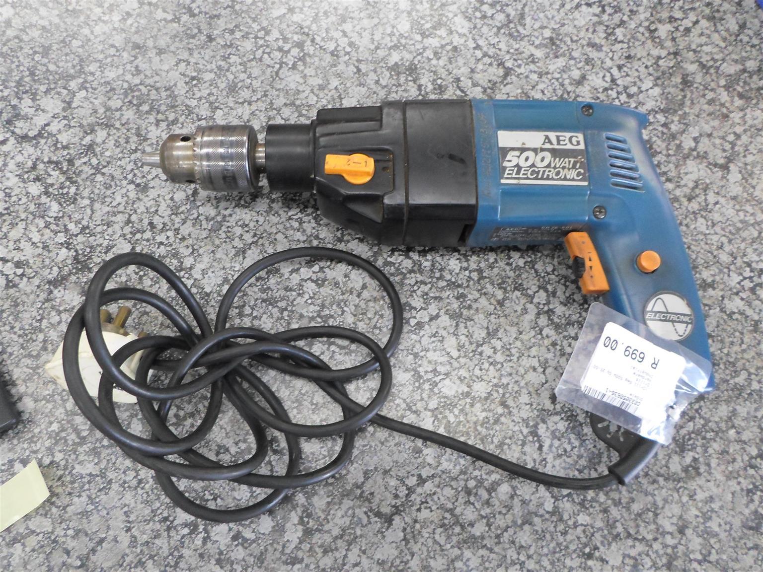 500W AEG SB 2E-501 Drill