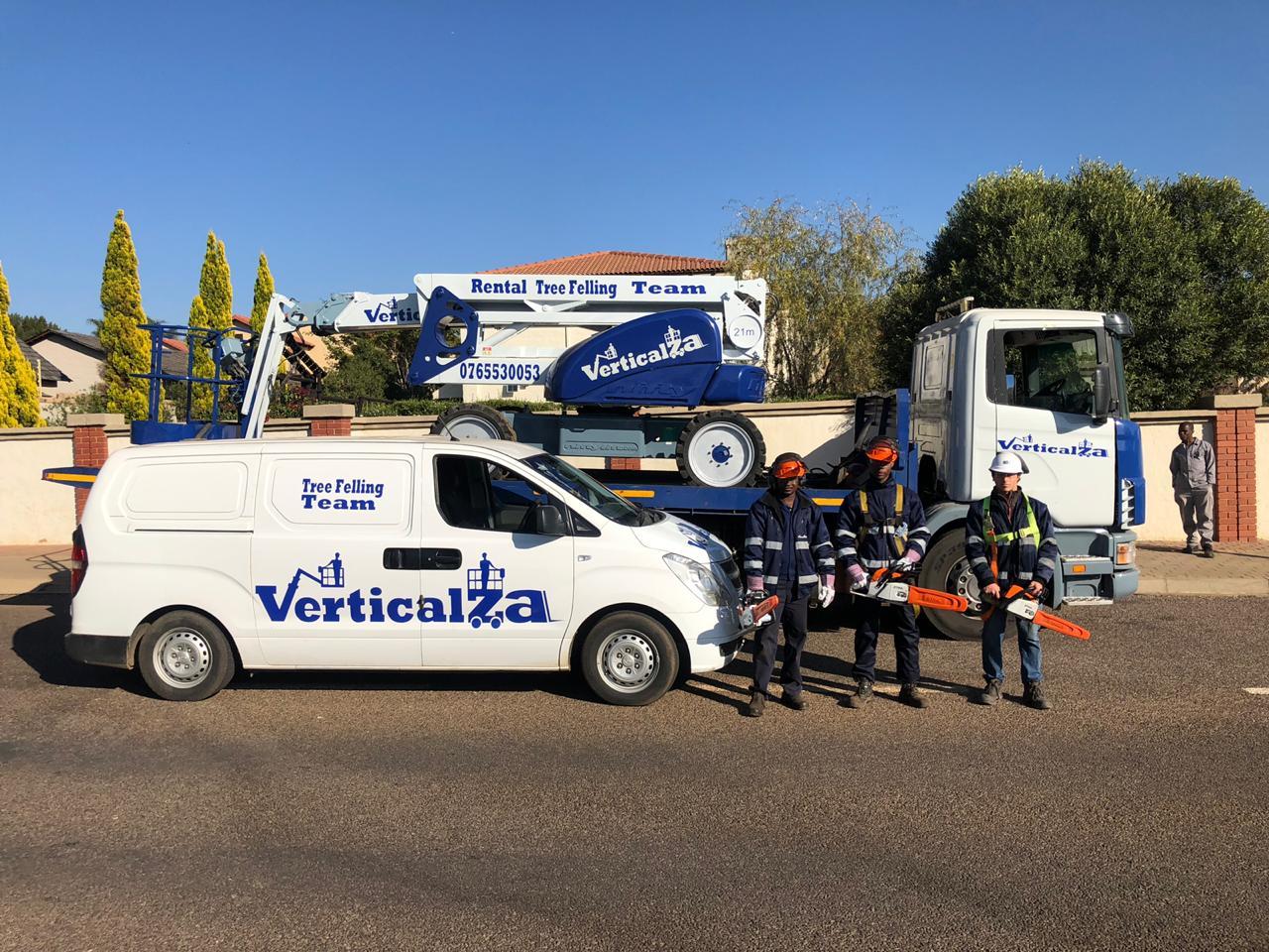 VerticalZA – Tree Felling & High Pressure Cleaning