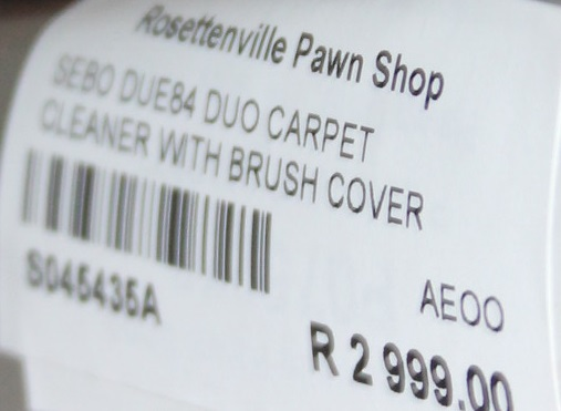 SEBO CARPET CLEANER S045435A #Rosettenvillepawnshop