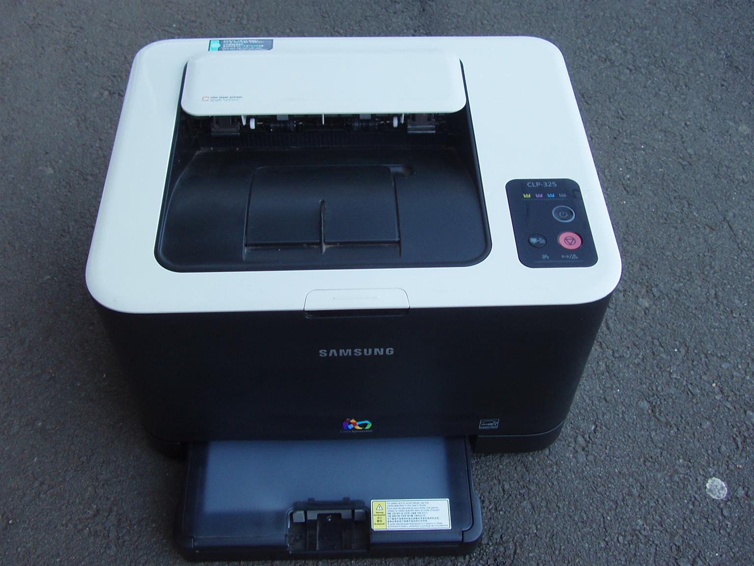 Samsung Color Laser Printer (CLP-325) - in excellent condition