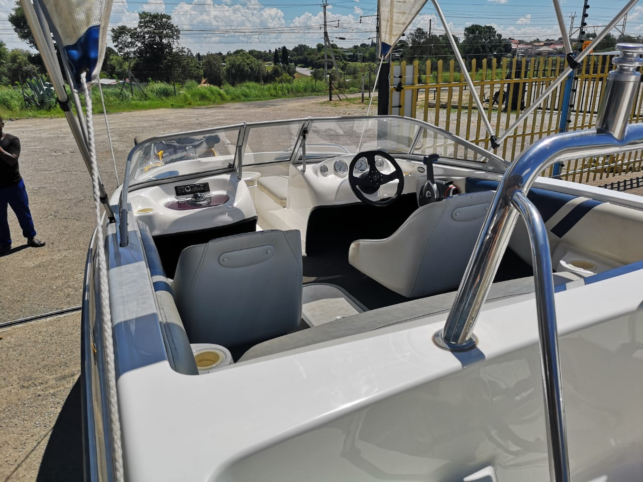 Unity 170, 115Hp Johnson Saltwater Edition