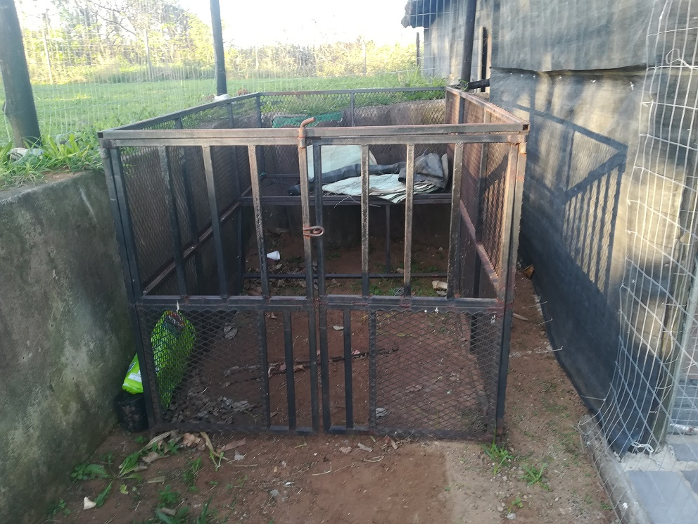CANOPY CAGE FOR BAKKIE