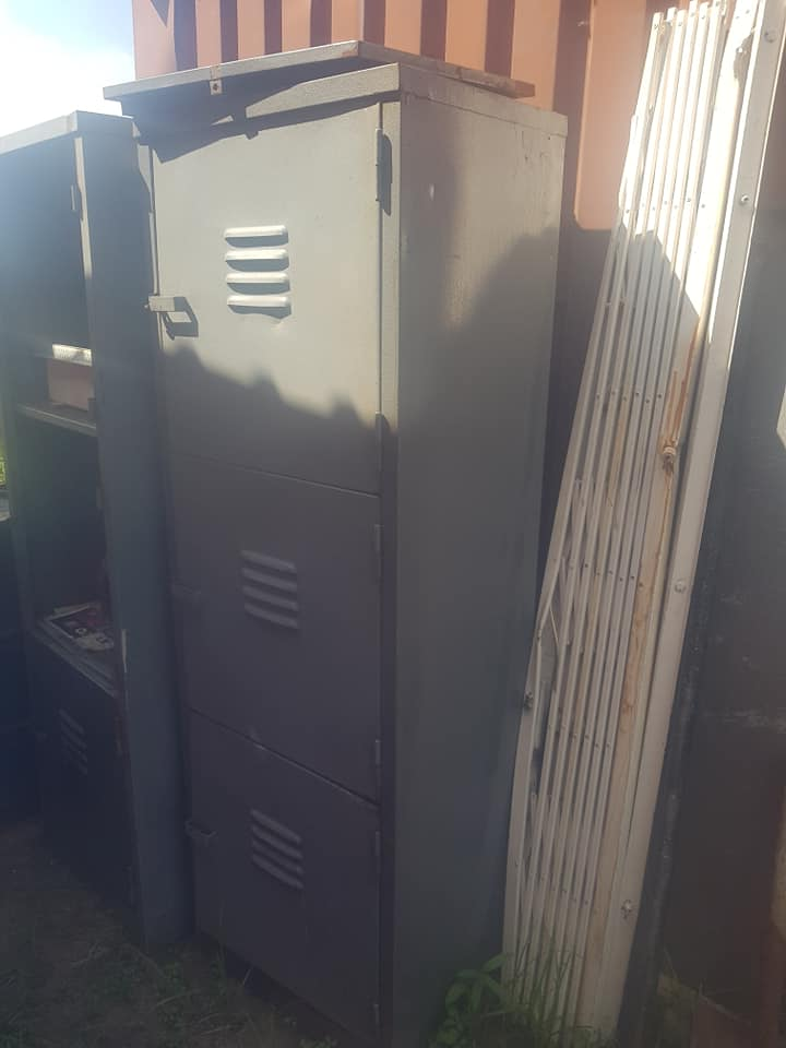 Steel large cabinet for sale