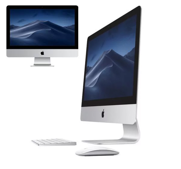Imac 21.5 inch with wireless mouse and keyboard